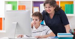 Zuhause online lernen