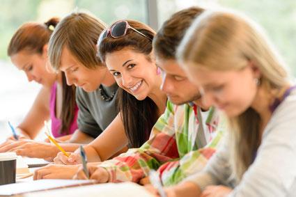 Vermittlung moderner Lerntechniken, Abbau von Prüfungsangst